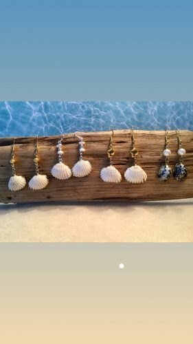 Nautical Earrings - Summer on the Great Lakes by Sherry G. Day  - featured on Jewelry Making Journal