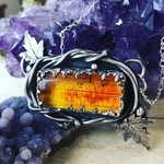 Baltic Amber Jewelry by Tina Murphy - featured on Jewelry Making Journal
