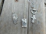 Precious Metal Clay Bounty by Lynda Carson - featured on Jewelry Making Journal