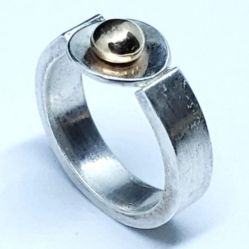 Torch Fear to Torch Adoration - Fabricating Rings by Diana White  - featured on Jewelry Making Journal