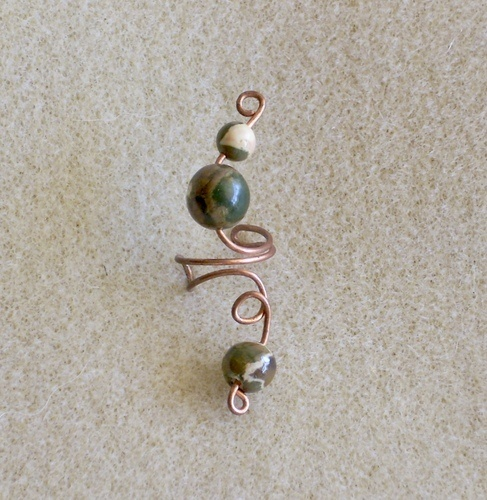 Ear Ornaments for Non-Pierced Ears by Nancy Vaughan  - featured on Jewelry Making Journal