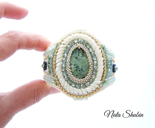 Cuff for Judy by Nata Shubin  - featured on Jewelry Making Journal