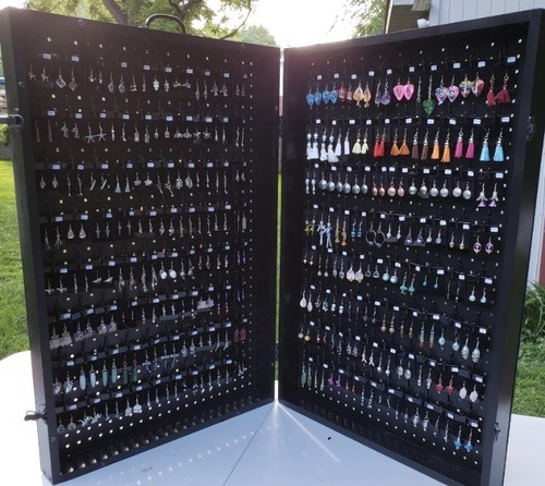 Easy Set Up Earring Display by Misty Doy  - featured on Jewelry Making Journal