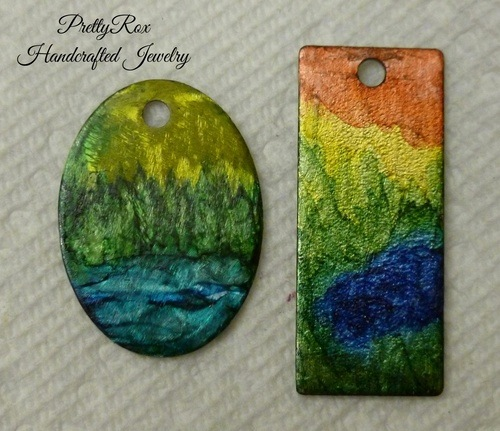 Fun with Alcohol Inks by Mary Alps  - featured on Jewelry Making Journal