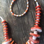 Spiney Oyster Necklace - Evolution by Katie Kremer - featured on Jewelry Making Journal