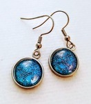 Jewelry Made from Upcycled National Geographic Magazines by Marcia Passos-Duffy - featured on Jewelry Making Journal