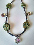 Retro Style Necklace Set by LaTosha Pence - featured on Jewelry Making Journal