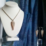 Chain Maille Statement Piece - Trinity Twist by Beverly Carlson - featured on Jewelry Making Journal