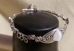 Herringbone Filigree Bracelet by Virginia Milner - featured on Jewelry Making Journal