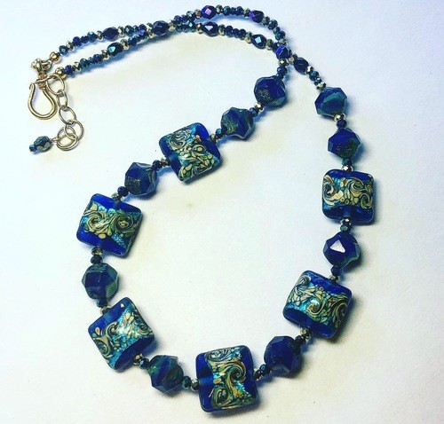 Old Dogs CAN Learn New Design Tricks! by Jennifer  - featured on Jewelry Making Journal