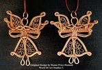 Wire Wrap Copper Angel Prototype Part 2, by Merrie Daune Price-Hannah - featured on Jewelry Making Journal