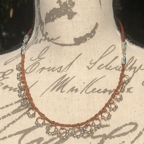 Leather Necklaces with Flair! by Melissa Jones  - featured on Jewelry Making Journal