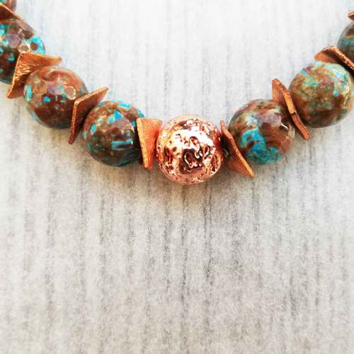 Goodbye Silver (for Now), Hello Copper by Irene Vrbensky  - featured on Jewelry Making Journal
