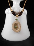 Antler Jewelry by Laurie Bielby - featured on Jewelry Making Journal