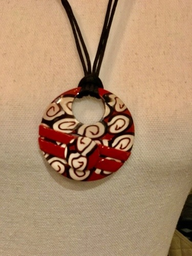 Polymer Clay Addiction by Catelain  - featured on Jewelry Making Journal
