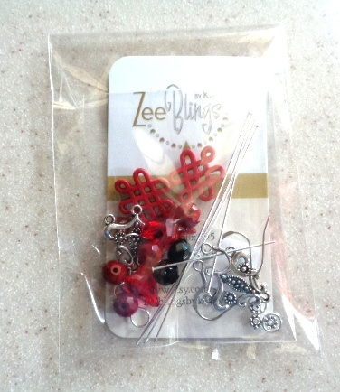 Making Earring Kits by Kathy Zee  - featured on Jewelry Making Journal