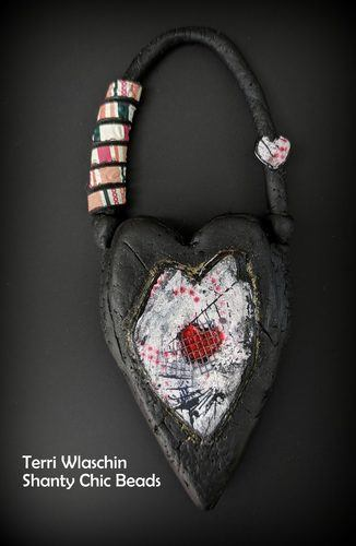 Adapting Collage Techniques to Jewelry by Terri Wlaschin  - featured on Jewelry Making Journal