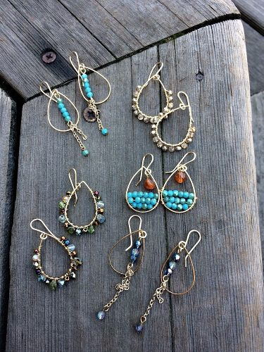 All Dressed Up and Nowhere to Go... by Lynda Carson  - featured on Jewelry Making Journal