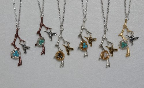 Hummingbird, Come Fly Home by Brenda Swiger  - featured on Jewelry Making Journal