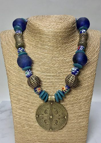 More African Inspired Necklaces, by Sherry Day  - featured on Jewelry Making Journal