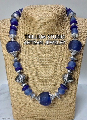 More African Inspired Necklaces, by Sherry Day
