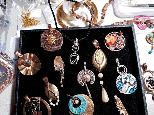 Jewelry Made With What I Find by Lynda Wilsn
