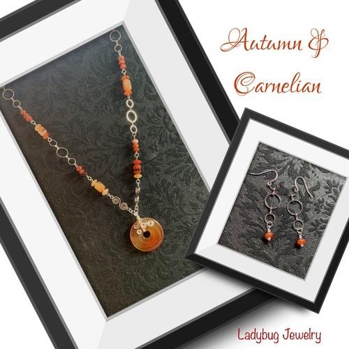 Autumn Beauty - Carnelian by Michelle Maple