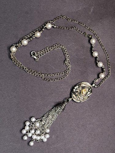 Repurposing Mom's Earrings by Jillian Granik