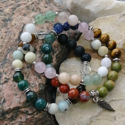 Aromatherapy Bracelets by Michelle Miller