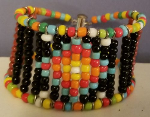 Native American Inspired Cuff by Virginia Milner