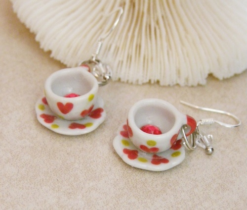 Tea Set Treasures by Candy Carlile